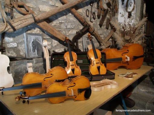 Luthiers de España y Francia se darán cita en Boltaña en la IX edición de la Feria Pirenaica de Luthiers